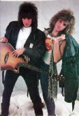 Bon Jovi - 'Richie and Jon' Postcard